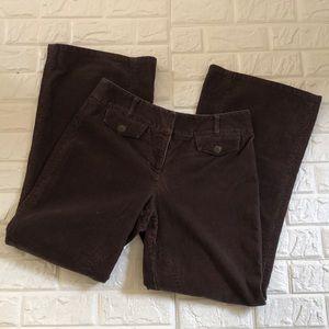 Ann Taylor Loft stretchy corduroy flared pants